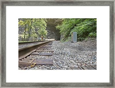 Tracks  Framed Print by Betsy Knapp