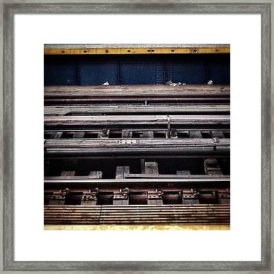 Tracks Framed Print