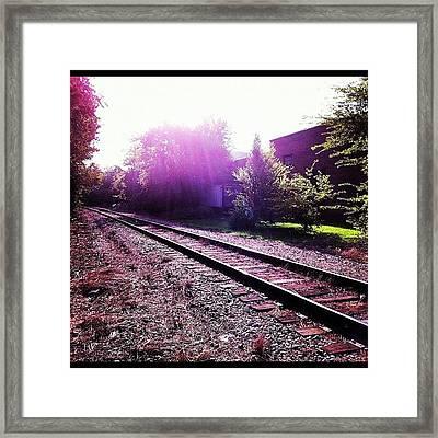 Trackstonowhere Framed Print