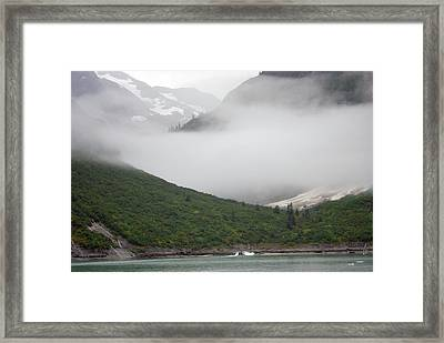 Tracy Arm Inlet Framed Print
