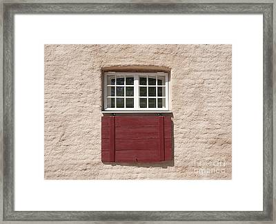 Traditional Building Facade Framed Print by Jaak Nilson