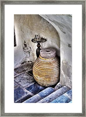 Traditions Framed Print by MaryJane Armstrong