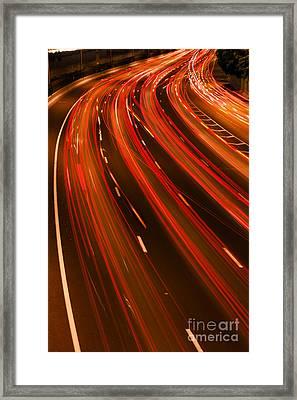 Traffic River Framed Print