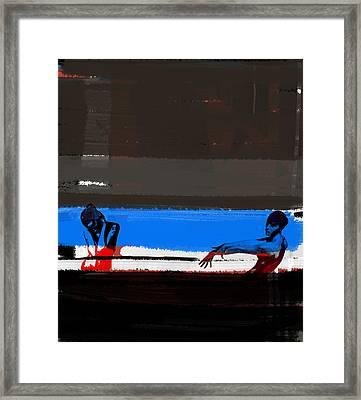 Tragic Friendship Framed Print by Naxart Studio