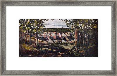 Trail Fifteen Framed Print