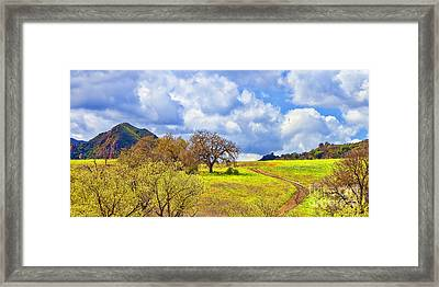 Trail To Nowhere Framed Print by Jason Abando