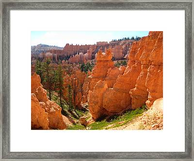 Trail View Bryce Canyon Framed Print
