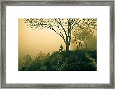 Trails Framed Print