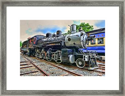 Train - Steam - 385 Fully Restored Framed Print by Paul Ward