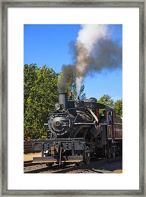 Train Number One Framed Print by Garry Gay