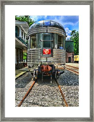 Train Of The Future Framed Print by Paul Ward