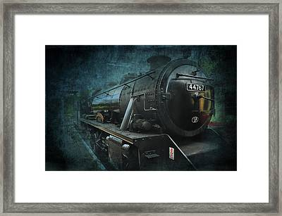 Train Framed Print by Svetlana Sewell