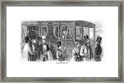 Train Travel: First Class Framed Print