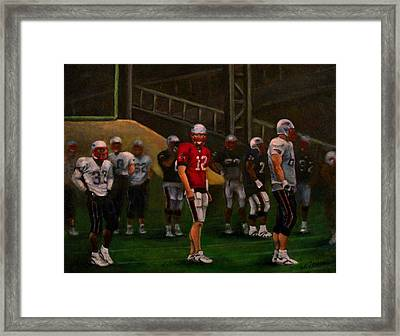 Training Camp Framed Print