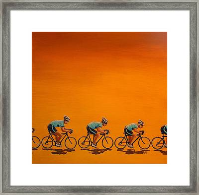 Training Framed Print by Jennifer Lynch