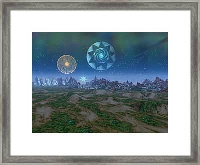 Tralfamadore Framed Print by Diana Morningstar
