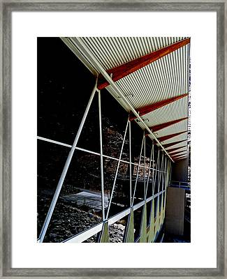 Tramway Valley Station Exterior Framed Print by Randall Weidner