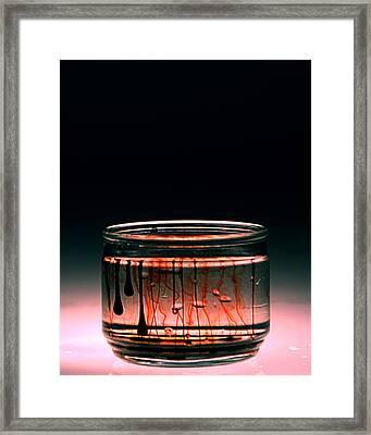 Trange Framed Print by Christian Allen