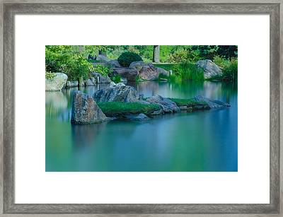 Tranquil Island Framed Print by Jonah  Anderson
