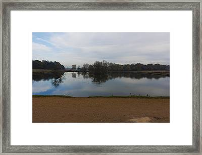 Framed Print featuring the photograph Tranquil by Maj Seda