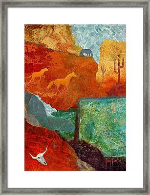 Tranquil Search Framed Print