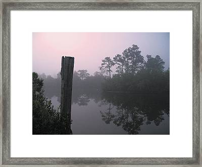Framed Print featuring the photograph Tranquility by Brian Wright