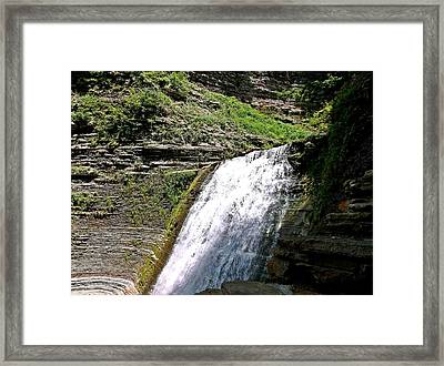 Framed Print featuring the photograph Tranquility by Christian Mattison