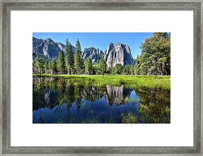 Tranquility In Yosemite Framed Print by Mimi Ditchie Photography