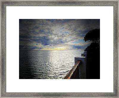 Tranquility Framed Print by MaryJane Armstrong