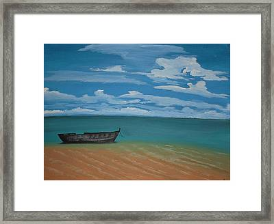 Tranquility Framed Print by Silvia Louro