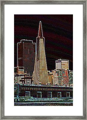 Transamerica Building Framed Print