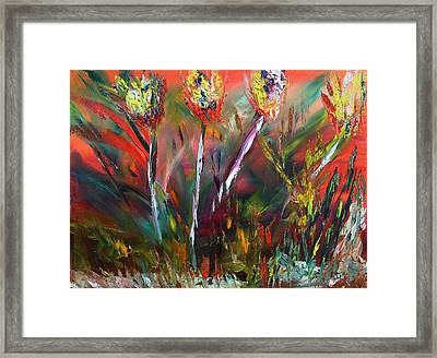 Transcended Framed Print by James Bryron Love