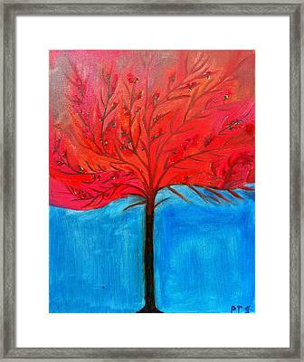 Transition To Spring Framed Print by Prachi  Shah