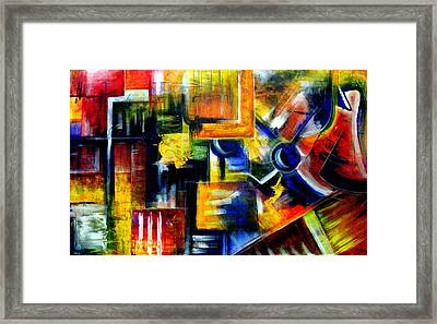 Transitions Framed Print by Laura  Gomez