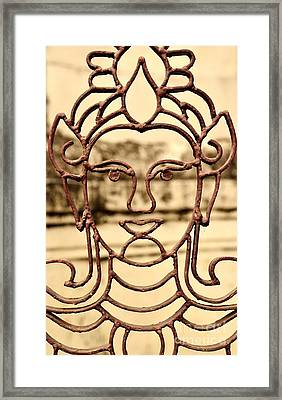 Transparence Framed Print by Dean Harte