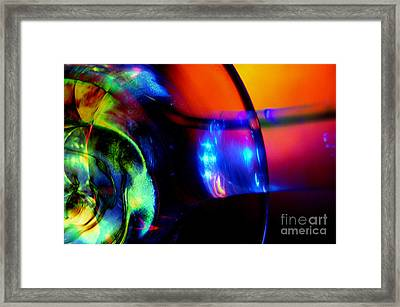 Transparent Color Framed Print