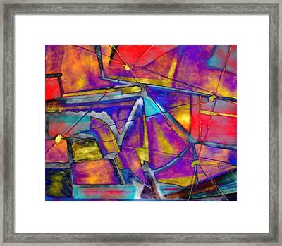 Trapezoid Framed Print