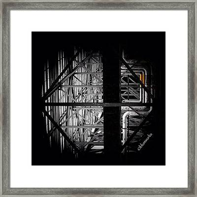 Trapezoidal Planes Framed Print