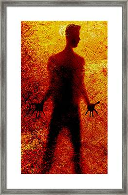 Framed Print featuring the photograph Trapped by James Bethanis