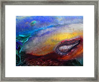 Framed Print featuring the digital art Travel by Richard Laeton