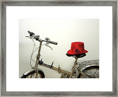 Traveling In Style Framed Print by Renee Trenholm