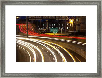 Traveling In Time Framed Print
