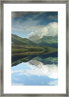 Traveling To Seward Framed Print by Ann Marie Chaffin