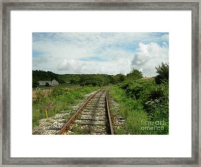 Traveling Towards One's Dream Framed Print
