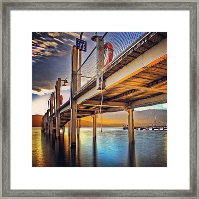 #travelingram #mytravelgram #mtgaddicts Framed Print by Tommy Tjahjono