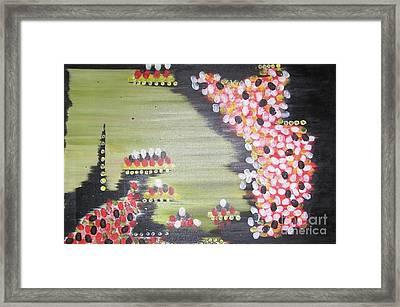 Travelling Dna Framed Print by Rachel Carmichael