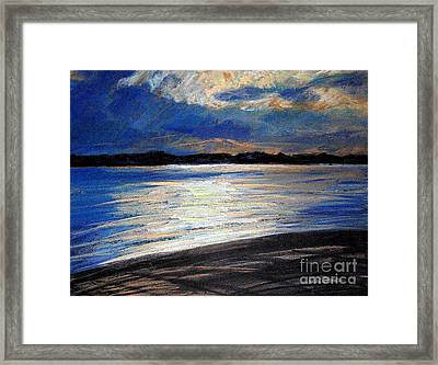 Traverse Bay Framed Print by Lisa Dionne