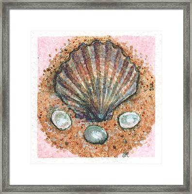 Treasure Of The Sea Framed Print by Sabrina Khan