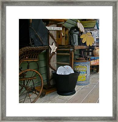 Treasure Quest Framed Print by Rhonda Jones