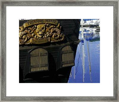 Treasure Seeker Framed Print by Catherine Kurchinski